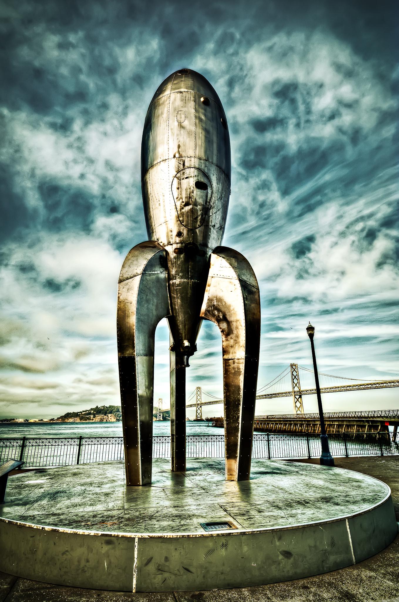 Pier 14 Rocketship